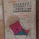 Culegere De Exercitii Si Probleme De Matematica - Gr. Gheba, 536261 - Carte Matematica