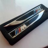 Set 2 embleme BMW M aripi laterale metal - Embleme auto