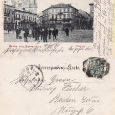 Cernauti ( Bucovina )- clasica, rara - Carte Postala Bucovina pana la 1904, Circulata, Printata