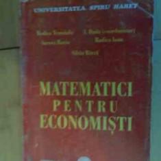 Matematici Pentru Economisti - Colectiv, 536327 - Carte de vanzari