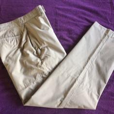Pantaloni barbati Tommy Hilfiger TOMMY FILFIGER, W30 L32, Culoare: Bej, Lungi, Bumbac