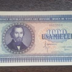 Bancnota Romania 1000 Lei 1950 aUNC+ // Va invit sa urmariti si alte licitatii