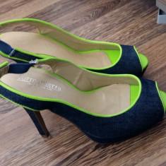 Sandale cu toc inalt - Sandale dama Benvenuti, Culoare: Din imagine, Marime: 35