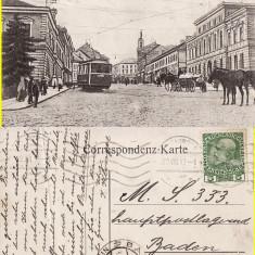 Cernauti ( Bucovina )- tramvai, rara