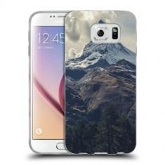 Husa Samsung Galaxy S6 Edge Plus G928 Silicon Gel Tpu Model Mountains - Husa Telefon