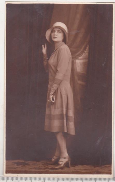 bnk foto Portret de domnisoara - Foto-Pax Ed Bucovsky Bucuresti 1929
