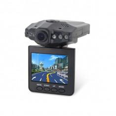 Camera video auto DVR cu inregistrare HD H198 + card 8gb, negru - MP3 player