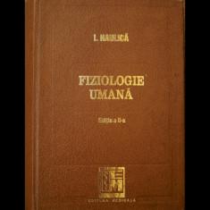 FIZIOLOGIE UMANĂ - I. HAULICĂ - EDIȚIA A II-A - EDITURA MEDICALĂ - ANUL 1996