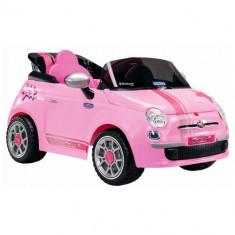 Fiat 500 Star Pink cu Telecomanda - Masinuta electrica copii Peg Perego