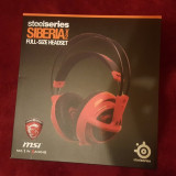Casti SteelSeries Siberia v2 Red