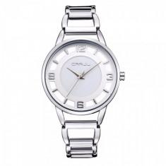 Ceas elegant dama Quartz 2103, argintiu - Ceas dama, Fashion, Otel, Analog