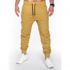 Pantaloni barbati P435 BEJ, model NOU