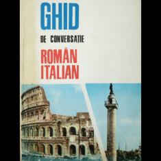 GHID DE CONVERSAȚIE ROMÂN-ITALIAN - A. VIRGIL - EDITURA ȘTIINȚIFICĂ - ANUL 1968 - Ghid de conversatie