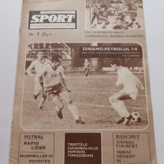 Revista SPORT- aprilie 1967(RAPID Bucuresti-lider, Steaua Bucuresti)