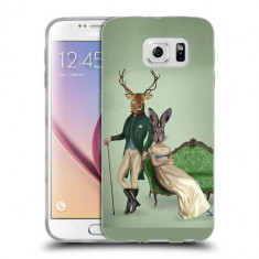 Husa Samsung Galaxy S6 Edge Plus G928 Silicon Gel Tpu Model Abstract Portret - Husa Telefon