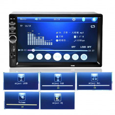 Player Multimedia Auto 2DIN Radio, MP5 Display 7