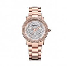 Ceas elegant dama Quartz 2109-1, rose gold - Ceas dama, Fashion, Otel, Analog