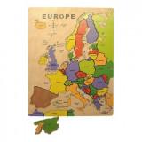 Puzzle Bigjigs - Europa