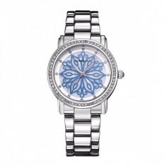 Ceas elegant dama Quartz 2109-3, argintiu - Ceas dama, Fashion, Otel, Analog