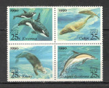 U.R.S.S. 1990 Fauna marina  bloc 4  KU.110