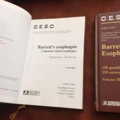 Carte medicina L Engleza - Barret's esophagus 2 volume anul 2003 !