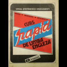 CURS RAPID DE LIMBA ENGLEZĂ - VIRGIL ȘTEFĂNESCU-DRĂGĂNEȘTI - ED. ROMÂNUL 1992 - Curs Limba Engleza