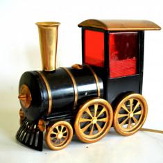 Veioza veche, perioada comunista USSR - Locomotiva pe aburi - tren - trenulet, Veioze