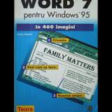 WORD 7 - PENTRU WINDOWS 95 ÎN 460 IMAGINI - JOYCE NIELSEN - EDITURA TEORA - 1998 - Carte software