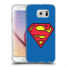 Husa Samsung Galaxy S6 Edge Plus G928 Silicon Gel Tpu Model Superman