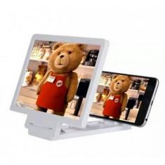 Lupa portabila pentru extindere display smartphone 3D