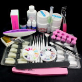 Set complet de manichiura gel UV