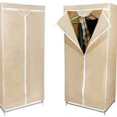 Dulap textil pentru haine, schelet metalic si husa de protectie - Sifonier