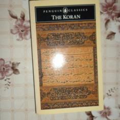 The Koran ( Coranul ) carte in limba engleza an 1990/455pag/format 11x18cm - Carti Islamism