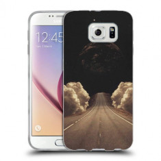 Husa Samsung Galaxy S6 Edge Plus G928 Silicon Gel Tpu Model Moon Road - Husa Telefon