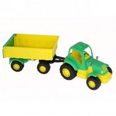 Tractor HARDY cu remorca Nr.1 42cm - POLESIE