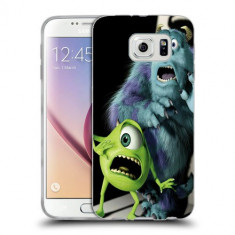 Husa Samsung Galaxy S6 Edge Plus G928 Silicon Gel Tpu Model Monster Ink - Husa Telefon