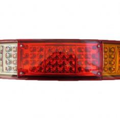 Lampa Stop Remorca Rulota Camion pe LED 24V AL-TCT-3753-3754 - Tuning camioane