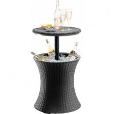 Mini Bar Gradina Rattan Antracite Curver 7290103660550