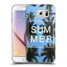 Husa Samsung Galaxy S7 Edge G935 Silicon Gel Tpu Model Summer - Husa Telefon