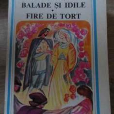 Balade Si Idile. Fire De Tort - George Cosbuc, 397050 - Carte poezie