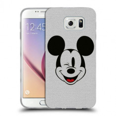 Husa Samsung Galaxy S6 Edge Plus G928 Silicon Gel Tpu Model Mickey