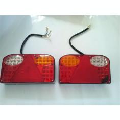 Lampa Stop Remorca Rulota Camion pe LED 24V AL- TCT-2092