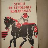 Studii de etnologie romaneasca an 1990/228pag+ilustratii- Emilia Pavel - Carte folclor