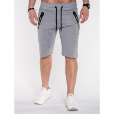 Pantaloni scurti barbati P511 Gri deschis - Bermude barbati, Marime: S, M, L, XL, XXL, Culoare: Din imagine, Bumbac