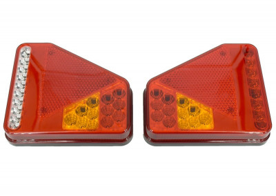 Lampa Stop Remorca Rulota Camion pe LED SMD 12v / 24V PRET PE SET  AL-TCT-5716 foto
