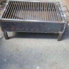 Gratar otel rezistent 60×40 cm Camping,Gradina,Curte ,Casa