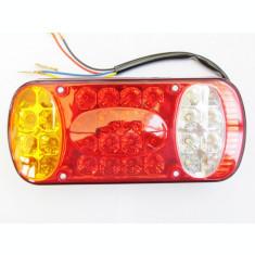 Lampa Stop Remorca Rulota Camion pe LED 12v  AL- TCT-3748