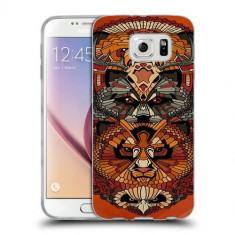 Husa Samsung Galaxy S6 Edge Plus G928 Silicon Gel Tpu Model Abstract Totem - Husa Telefon