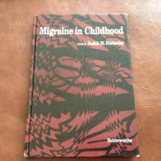 Carte medicina L Engleza - Migraine in Childhood / 148 pag !