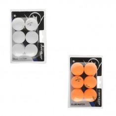 Oferta! Set 6 mingi tenis de masa Dunlop 1 stea - originale - Minge ping pong